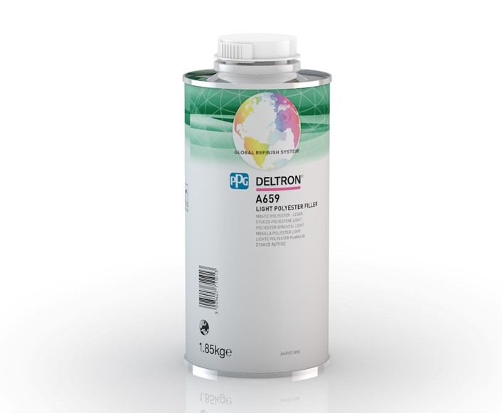 Mastic polyester léger