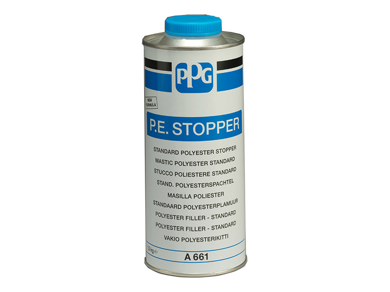 Mastic polyester standard